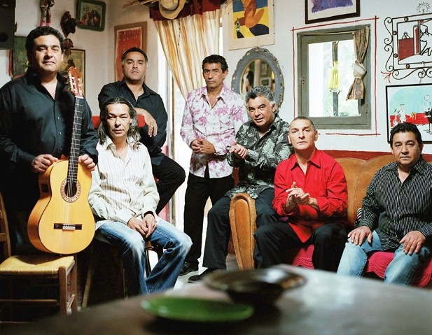 THEY WANT TO SERENADE YOUR MOM :  The Gipsy Kings play Mother's Day, May 9, at Avila Beach Resort, the first in a summer-long series of ocean view shows. - PHOTO COURTESY OF THE GIPSY KINGS