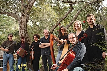 GET THE PARTY STARTED :  Start your St. Paddy's Day celebration early with a Celtic concert featuring harpist Jill Poulos and her ensemble on March 13 at Painted Sky Studios. - PHOTO BY ADRIAN CRABTREE