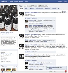 ON THE WEB :  Local wineries have nurtured an enthusiastic following online. - SCREEN SHOT BY STEVE E. MILLER
