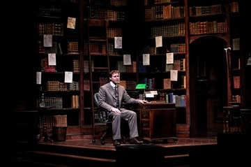 MAN OF MYSTERY :  Keeping his identity anonymous, Jervis Pendleton (Kevin Ealey, pictured) sends poor orphan Jerusha Abbot to college, but then goes and falls in love with her, in Daddy Long Legs. - PHOTOS BY LUIS ESCOBAR/REFLECTIONS PHOTOGRAPHY STUDIO