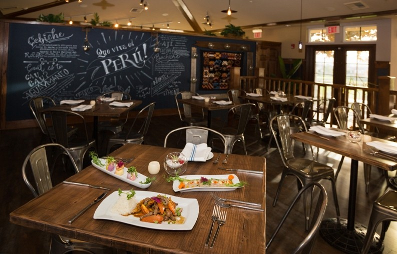 HOT HANGOUT:  Tucked away at the River Oaks Golf Course, fine dining Peruvian restaurant Mistura provides a wallop of traditional and unexpected flavors. - PHOTO BY KAORI FUNAHASHI