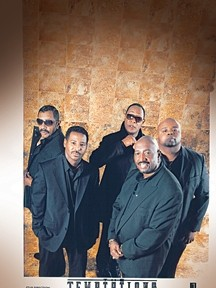 THE TEMPTATIONS :  Jan. 11 at 8 p.m. at the Cohan Center. $36-58. - PHOTO COURTESY OF THE TEMPTATIONS