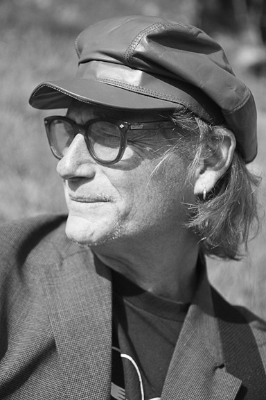 LIKE WILLIAM BURROUGHS LEADING A CAMPFIRE SING-A-LONG :  Crosby Tyler plays Last Stage West on June 11and the SLO Down Pub on June 12. - PHOTO COURTESY OF CROSBY TYLER