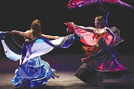 PHOTO COURTESY OF BELLYDANCE SUPERSTARS