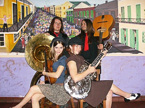 FREE LIKE JIPZEES :  Red Skunk Jipzees hit the SLO Down Pub on Jan. 9. - PHOTO COURTESY OF RED SKUNK JIPZEE BAND