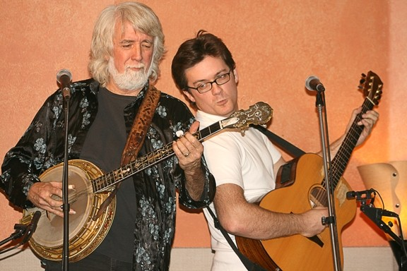 LIKE FATHER, LIKE SON :  John and Nathan McEuen headline the 4th Annual Benefit Concert for Escuela del Rio on June 6 at Castoro Cellars Winery in Templeton. - PHOTO COURTESY OF JOHN AND NATHAN MCEUEN
