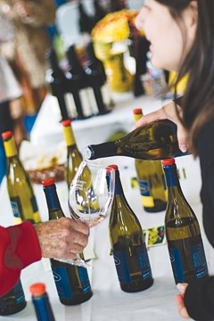 SUBLIME :  Experience superb wines, gorgeous settings, and delectable cuisine at the Santa Barbara County Vintners' Festival - PHOTO BY BOB DICKEY