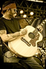 RED DIRT KING :  Downtown Brew hosts Red Dirt singer Stoney LaRue on March 7. - PHOTO COURTESY OF STONEY LARUE