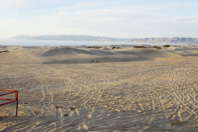 DUNE SAFETY:  Unfortunately, waves aren't the only things that crash along the beach at the Ocean Dunes Sate Park off highway recreational vehicle area. But parks officials and local OHV organizations work to raise awareness about safety. - FILE PHOTO BY STEVE E. MILLER