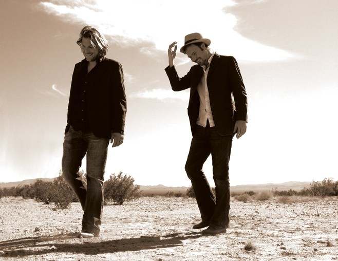 THE OTHER SIMON AND GARFUNKEL :  Amazing folk duo Chris and Thomas return to  Painted Sky Studios March 6. - PHOTO COURTESY OF CHRIS AND THOMAS