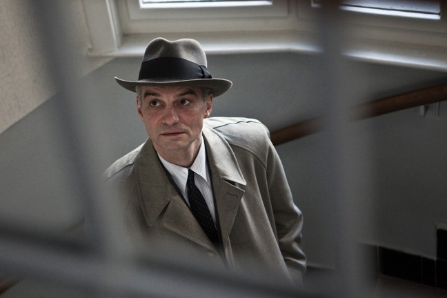 IN THE SHADOW :  Drawing inspiration from the Communist show trials of 1950s Czechoslovakia, Czech director David Ondˇríˇcek's neo-noir follows old school detective Captain Hekl (Ivan Trojan, pictured) into a web of secret police corruption. - PHOTO COURTESY OF SBIFF