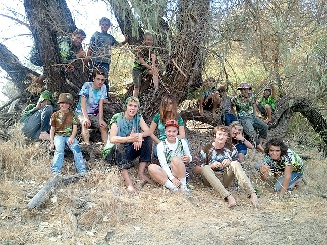 ONE WITH NATURE :  Outside Now runs summer camps, after-school programs, one- and two-day-a-week programs, and a high school academy. - PHOTO COURTESY OF OUTSIDE NOW