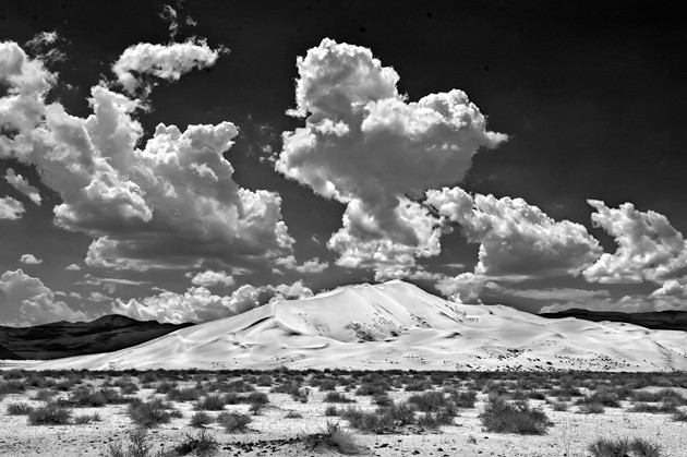 EUREKA DUNES : - PHOTO BY DON EATON