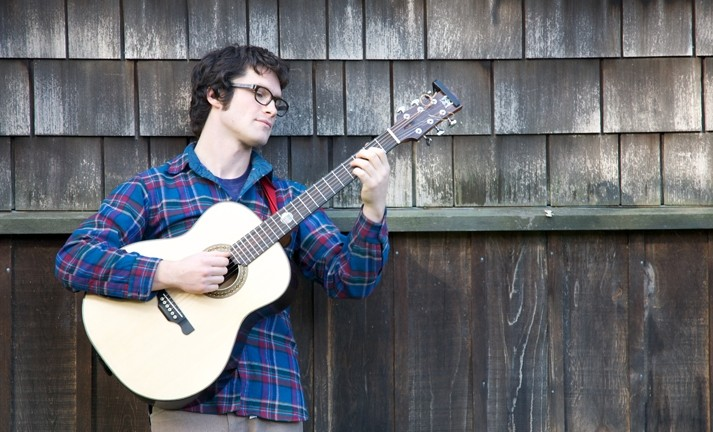 TROUBADOUR! :  Linnaea's Café presents Bay Area composer and multi-instrumentalist Alex Rather-Taylor on Jan. 9. - PHOTO COURTESY OF ALEX RATHER TAYLOR
