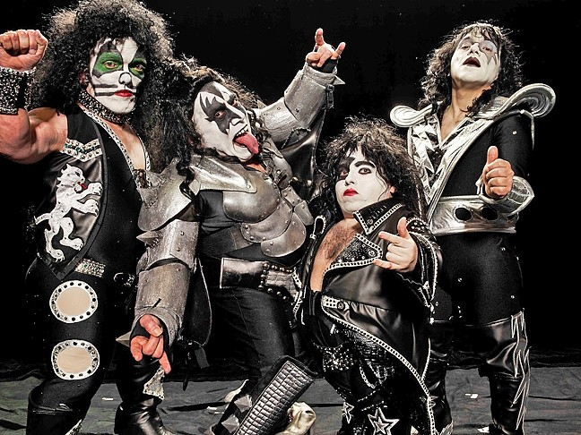 SMALL BUT MIGHTY:  Mini KISS, a KISS tribute band comprised of little people, plays July 30 at the Mid-State Fair. - PHOTO COURTESY OF MINI KISS