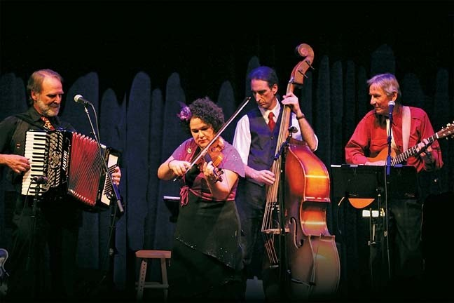 SPICE OF LIFE:  Café Musique lends its sweet wild sound to SLO Symphony's New Year's Eve POPs concert on Thursday, Dec. 31, at the Christopher Cohan Performing Arts Center. - PHOTO COURTESY OF CAFÉ MUSIQUE