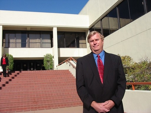 TOO MUCH :  Oceano CSD board member Vern Dahl says a slap on the back from the wife of another board member was the final straw. - PHOTO BY COLIN RIGLEY