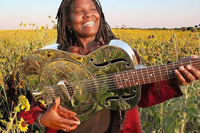 SOUL SISTER :  Soul, blues, rock, folk, and gospel performer Ruthie Foster plays a Good Medicine Presents show on July 28 at SLO Brew. - PHOTO COURTESY OF RUTHIE FOSTER