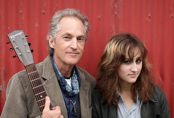 "LISTEN UP! :  Father-daughter duo Ranchers for Peace brings ""neo-hippy protest music"" to Painted Sky on June 29. - PHOTO COURTESY OF RANCHERS FOR PEACE"