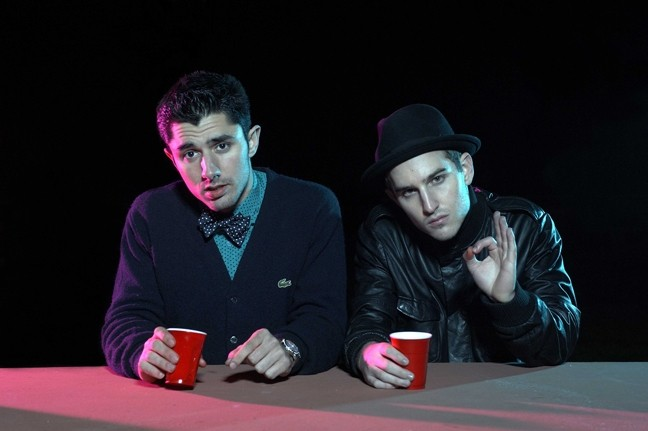 HIPPITY-HOP :  Indie-pop hip-hop duo The Cataracs play The Graduate on Feb. 21. - PHOTO COURTESY OF THE CATARACS