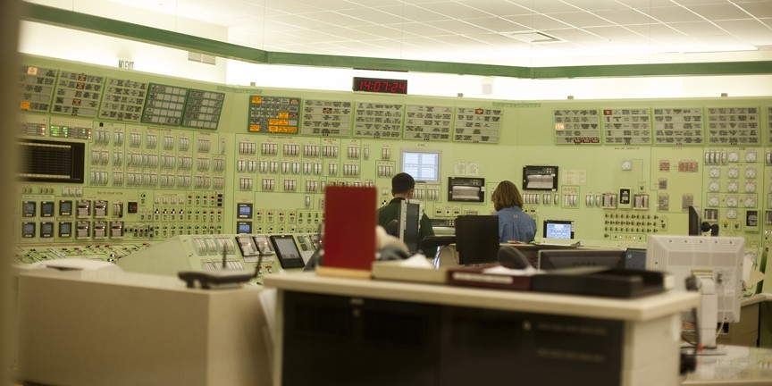 IN CONTROL? :  Pacific Gas & Electric operators at work in a control room at Diabo Canyon. The plant has faced increased scrutiny in the aftermath of the Japanese earthquake and resulting crisis at Fukushima. - FILE PHOTO BY STEVE E. MILLER