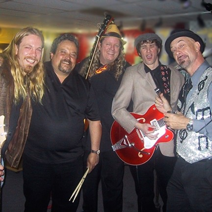 FROM BLUES TO BEATLES :  The Jim Townsend Blues Band, a regular act at the SLO Down Pub, will play Beatles music at the Valentine's Day tribute. - PHOTO COURTESY OF JIM TOWNSEND
