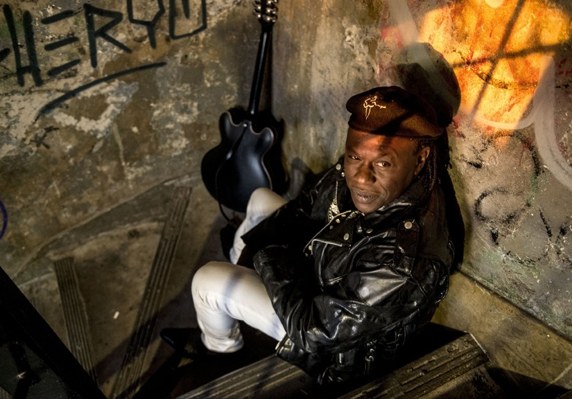 DEEP BLUES:  Joe Lewis Walker appears on April 5 at the SLO Vets Hall. - PHOTO BY MICHAEL WEINTROB