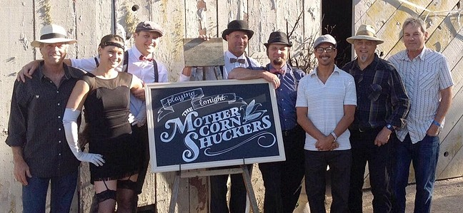 SHUCK YEAH!:  The Mother Corn Shuckers play the Sea Pines Barefoot Concerts on the green on Aug. 29. - PHOTO COURTESY OF THE MOTHER CORN SHUCKERS