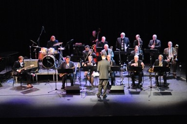 JAZZIN' IT UP :  The Cuesta Night Band delivers its big-band sound, along with other Cuesta College jazz ensembles, at the Arroyo Grande Village Summer Concert Series on Sept. 12. - PHOTO COURTESY OF THE CUESTA NIGHT BAND