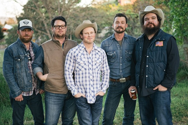 COWBOY UP:  Charting Red Dirt artists the Turnpike Troubadours play SLO Brew on Oct. 10. - PHOTO BY JUSTIN VOIGHT
