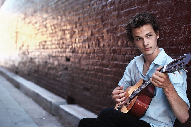 YOUNG LION:  Only 20 years old, guitarist and composer Andrew Rubin will present the world premiere of his classical guitar concerto co-written by Yes singer Jon Anderson and performed with the SLO Chamber Orchestra, on Oct. 25 in Los Osos' Trinity United Methodist Church. - PHOTO COURTESY OF ANDREW RUBIN