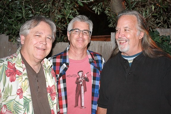 BIG SUR VIRGINS :  Though they've been around for 35 years, on March 3, bluegrass juggernauts the Cache Valley Drifters play their first Big Sur show at the Henry Miller Library. - PHOTO COURTESY OF CACHE VALLEY DRIFTERS