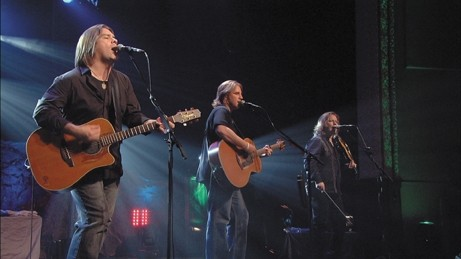 SEE SEA : - Canadian favorites Great Big Sea—who've been compared to a Celtic version of Crosby, Stills, and Nash—play Cal Poly's Spanos Theatre on Oct. 5. - PHOTO COURTESY OF GREAT BIG SEA