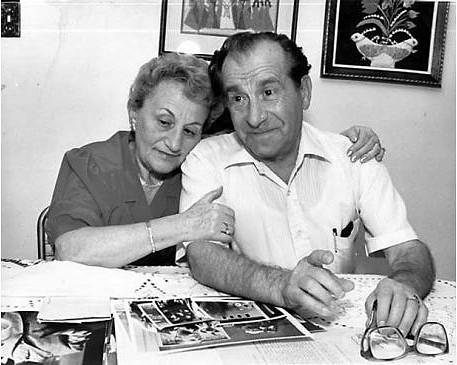 THE LUCKY ONES:  During the fall of 1942, in the Polish village of Pinczow, as the Germans deported Jews to the gas chambers, the Banya family offered to hide Israel and Frania Rubinek in their one-room farmhouse. - PHOTO COURTESEY OF THE JCC-FEDERATION OF SLO