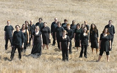 CHEER FOR YOUR FAVORITES :  Audiences are encouraged to applaud during the lively and spirited shows. The Cuesta Chamber Singers are pictured. But it's not a cutthroat weekend, even though it is a competition. - PHOTO COURTESY OF BRIAN LAWLER