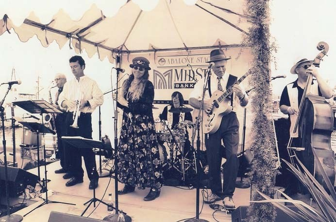 GET READY TO SWING :  Attend the Morro Bay Harbor Festival Oct. 3 and 4 and see 30 entertainers, including The Viper Six (pictured). Visit mbhf.com for a complete listing of entertainment. - PHOTO COURTESY OF VIPER SIX