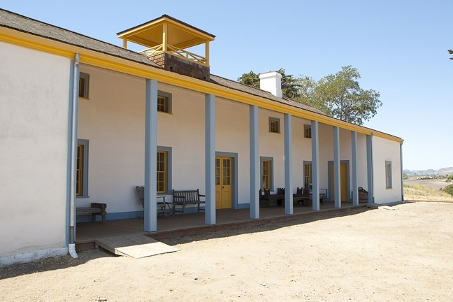 STANDING ALONE:  For a time, the Dana Adobe was the lone outpost for travelers in between Mission San Miguel and Mission Santa Ines. - PHOTO BY STEVE E. MILLER