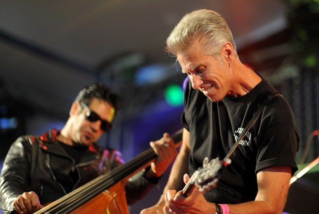 BLUES WITH ATTITUDE :  The Cadillac Angels bring their rockabilly style to the Otter Rock Café on Dec. 31. - PHOTO COURTESY OF CADILLAC ANGELS