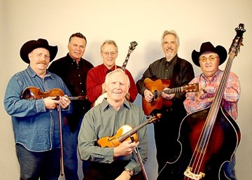 LORD BYRON :  The Byron Berline Band (pictured) brings its incredible bluegrass and Western sounds to the next Red Barn Community Music Series concert, set for March 16 in Los Osos' St. Benedict's Episcopal Church, with opening act The Cache Valley Drifters. - PHOTO COURTESY OF THE BYRON BERLINE BAND