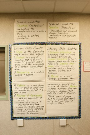 ASSEMBLY LINE EDUCATION:  A highly structured curriculum of learning objectives was imposed on Paso Robles schools after several years of inadequate standardized test scores. - PHOTOS BY STEVE E. MILLER