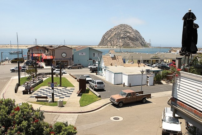 ROCK AND A HARD PLACE :  Morro Bay City officials must make tough budget decisions, if they hope to fix the city's chronic deficit spending. - PHOTO BY STEVE E. MILLER