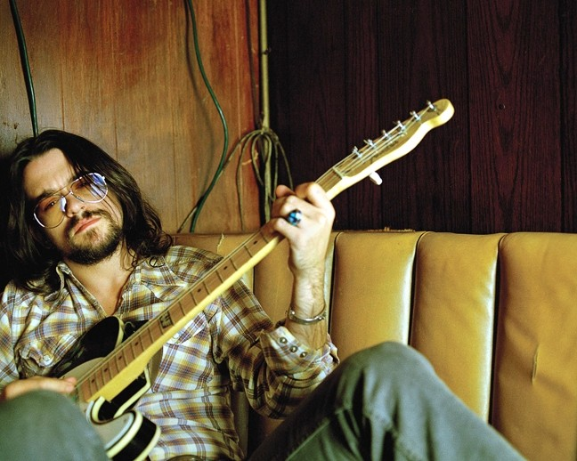 BADDASS! :  Shooter Jennings hits SLO Brew in support of his newest album, Black Ribbons, on Nov. 6. - PHOTO COURTESY OF SHOOTER JENNINGS