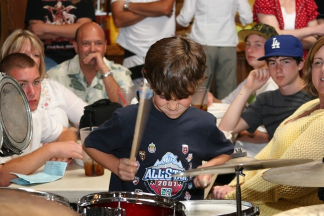CONCENTRATED JOY! :  Twenty drummers in two age categories will compete in the 23rd Annual Drum Circuit Drum Competition on April 29 at The Graduate. - PHOTO COURTESY OF THE DRUM CIRCUIT