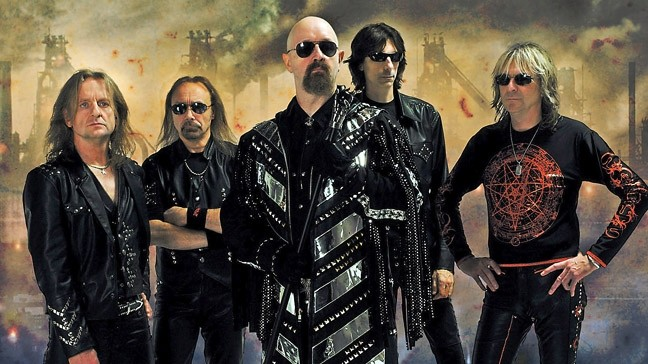 METAL GODS:  Judas Priest brings their heavy metal magic to Vina Robles Amphitheatre on Oct. 16. - PHOTO COURTESY OF JUDAS PRIEST