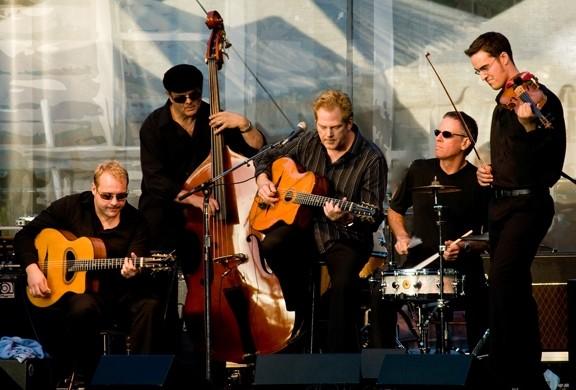 IS THAT YOU, DJANGO? :  The Django Reinhardt-inspired John Jorgenson Quintet performs June 13 at Castoro Cellars. - PHOTO COURTESY OF THE JOHN JORGENSEN QUINTET