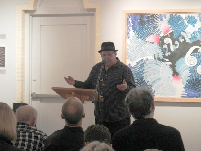 """LANGUAGE OF THE SOUL"":  SLO poet laureate emeritus Kevin Patrick Sullivan will read with fellow laureates at the SLO City Library on April 26. - PHOTO BY PATTI SULLIVAN"