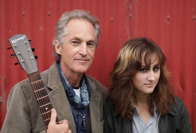 LISTEN UP, WORLD! :  Father-daughter duo Ranchers for Peace releases its first EP on June 9 at Steynberg Gallery. - PHOTO COURTESY OF RANCHERS FOR PEACE