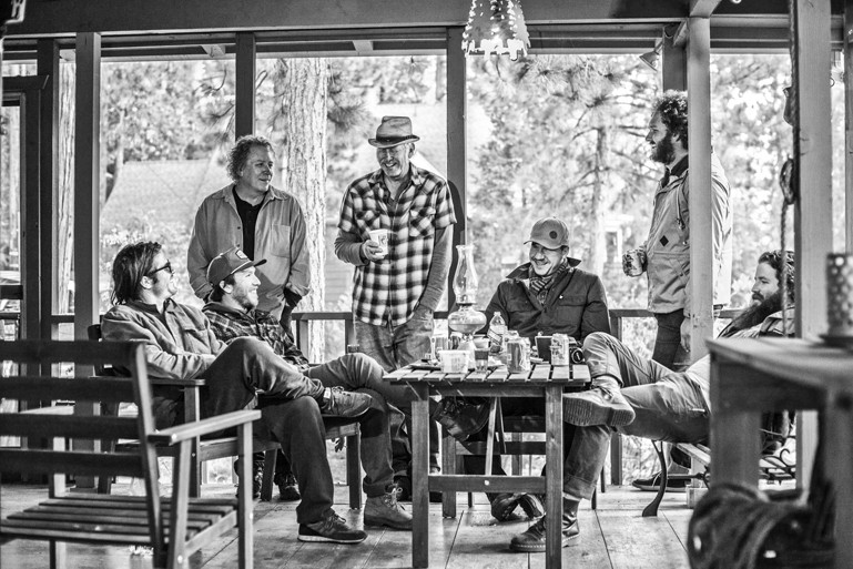 BIRDS OF A FEATHER:  Members of Moonsville Collective (pictured) will team with members of the Yo Pitzy Jug Band to play the Red Barn on Aug. 2. - PHOTO COURTESY OFMOONSVILLE COLLECTIVE