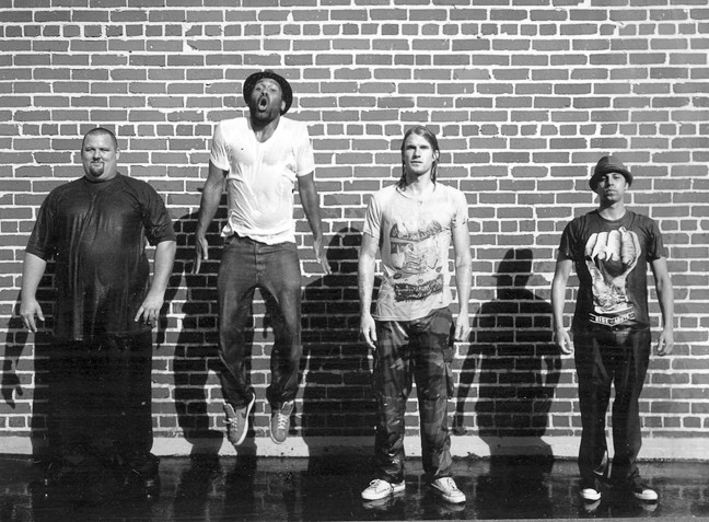JUMP FOR JOY :  Groove rockers Rey Fresco hits Downtown Brew on June 5 to deliver soulful vocals backed by a hard-hitting rhythm section. - PHOTO COURTESY OF REY FRESCO