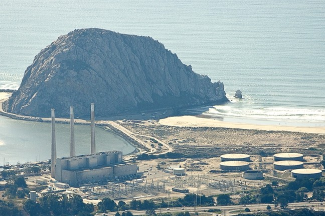 CASHED OUT :  Does NRG Energy know something no one else does? Dynegy shareholders will soon vote whether to sell the company, including the Morro Bay power plant. - PHOTO BY STEVE E. MILLER